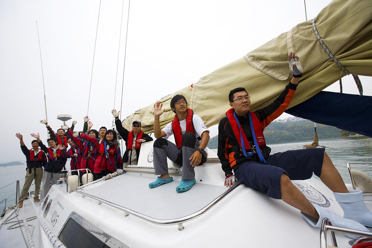 兩岸攜手挑戰 · 無動力帆船橫渡海峽